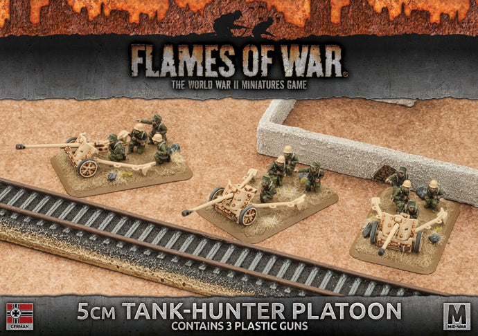 5cm Tank-Hunter Platoon - Flames Of War