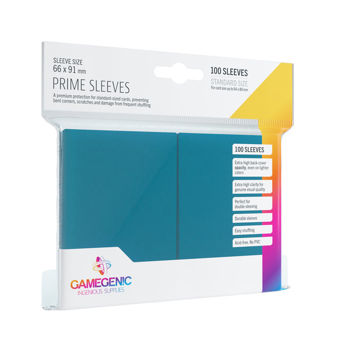 Gamegenic Prime Sleeves Blue (100 ct.)