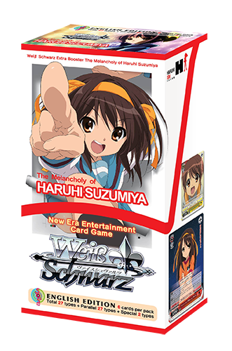 Weiss Schwarz - The Melancholy of Haruhi Suzumiya Extra Booster Box