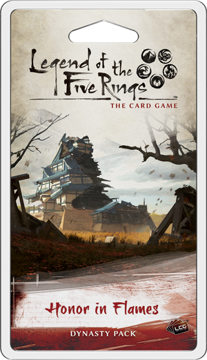 Honor in Flames - Legend of the Five Rings Dynasty Pack-Fantasy Flight Games-Athena Games Ltd