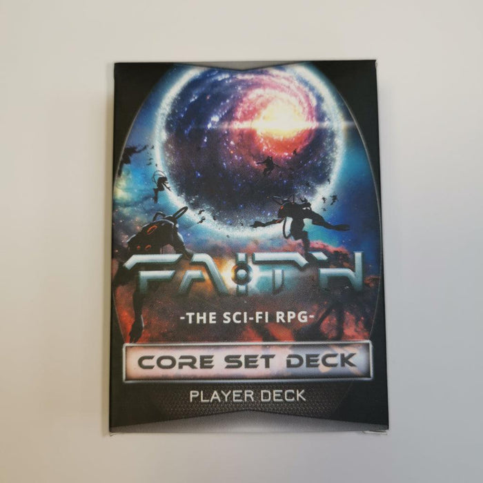 Faith: The Sci-Fi RPG - Core Set Deck - Player Deck