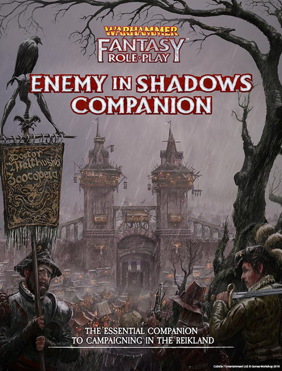 Enemy Within Campaign – Volume 1: Enemy in Shadows Companion - Warhammer Fantasy Roleplay Fourth Edition