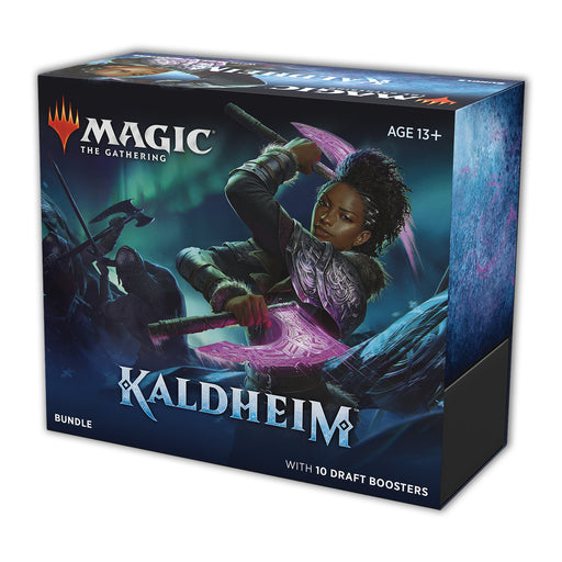 Magic: The Gathering Kaldheim Bundle | 10 Draft Boosters (150 Magic Cards) + Accessories-Wizards Of The Coast-Athena Games Ltd