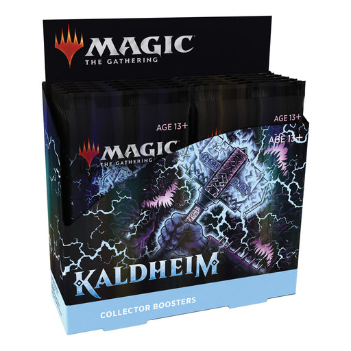Magic: The Gathering Kaldheim Collector Booster Box | 12 Packs (180 Magic Cards)-Wizards Of The Coast-Athena Games Ltd