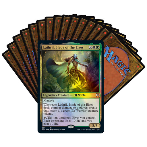 Magic: The Gathering Kaldheim Commander Deck – Elven Empire | 100 Card Ready-to-Play Deck | Green-Black-Wizards Of The Coast-Athena Games Ltd