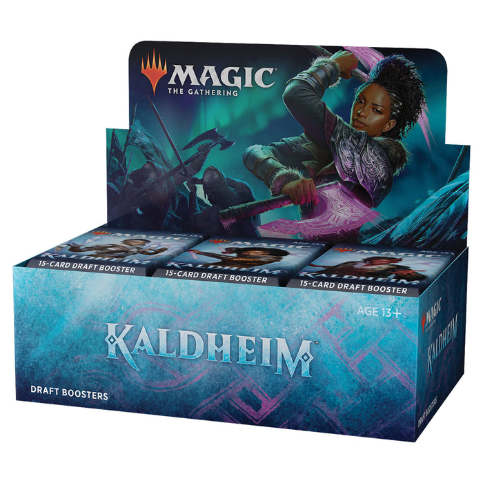 Magic: The Gathering Kaldheim Draft Booster Box | 36 Packs (540 Magic Cards)