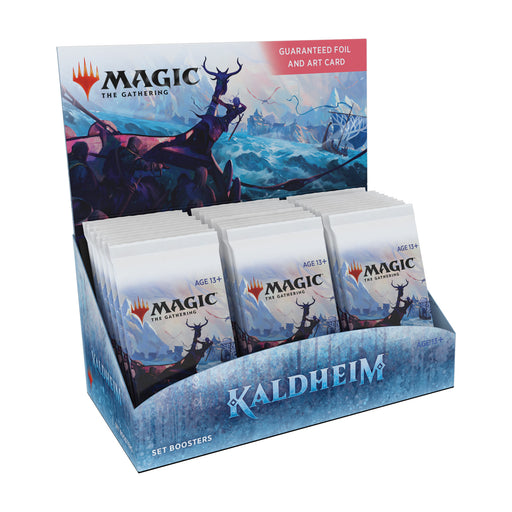 Magic: The Gathering Kaldheim Set Booster Box | 30 Packs (360 Magic Cards)-Wizards Of The Coast-Athena Games Ltd