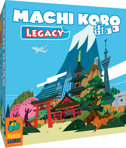 Machi Koro Legacy-Pandasaurus Games-Athena Games Ltd