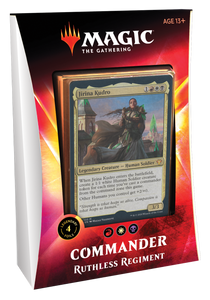 Ruthless Regiment - Ikoria: Lair of Behemoths Commander 2020 Deck