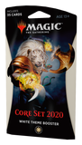 Magic the Gathering Core Set 2020 Theme Booster - White