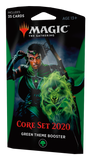 Magic the Gathering Core Set 2020 Theme Booster - Green