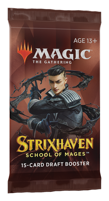 Magic: The Gathering Strixhaven Draft Booster Pack