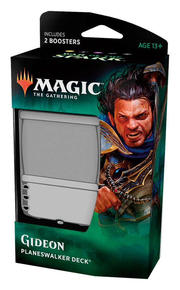 Magic The Gathering War of the Spark Planeswalker Deck - Gideon