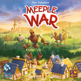 Meeple War Board Game Box