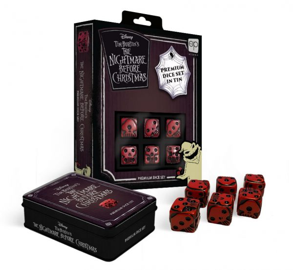 Disney The Nightmare Before Christmas Premium Dice Set