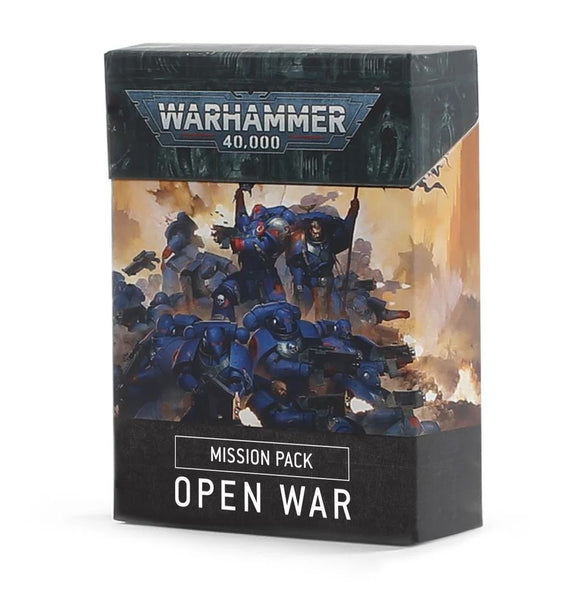 Warhammer 40000 Mission Pack Open War