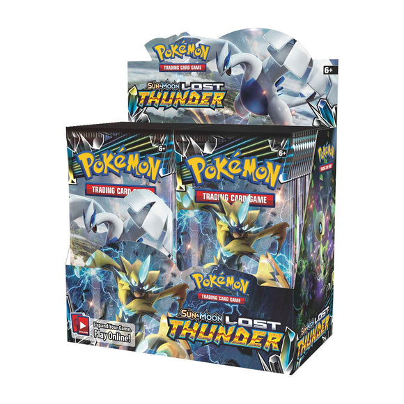 Pokemon Sun & Moon Lost Thunder Booster Box