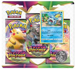 Pokemon Sword & Shield Vivid Voltage 3-Pack Blister