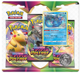 Pokemon Sword & Shield Vivid Voltage 3-Pack Blister - Vaporeon