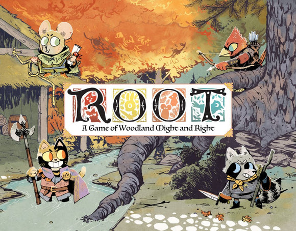 Root board game cover art