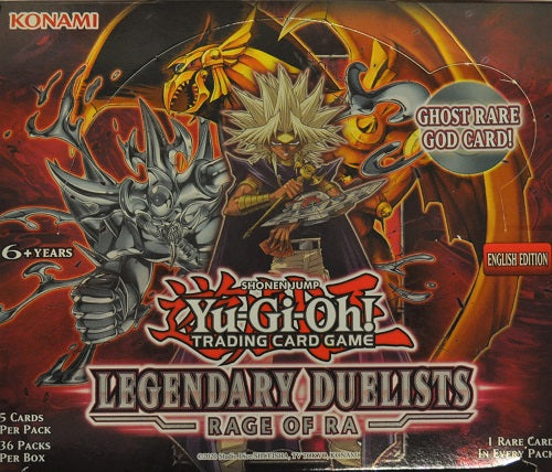 Legendary Duelists 7 - Rage of Ra Booster Box (Unlimited Edition) - Yu-Gi-Oh TCG
