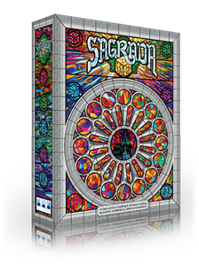 Sagrada Board Game Box Art