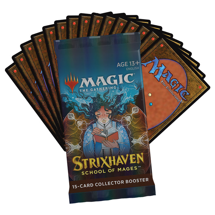 Magic: The Gathering Strixhaven Collector Booster Pack | 15 Magic Cards