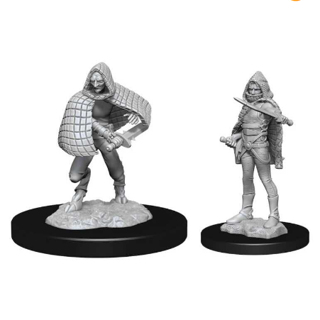 D&D Nolzur's Marvelous Miniatures: Darkling Elder & Darklings