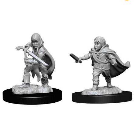 D&D Nolzur's Marvelous Miniatures: Halfling Rogue Male-Wizkids-Athena Games Ltd
