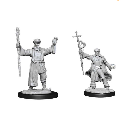 D&D Nolzur's Marvelous Miniatures: Human Wizard Male-Wizkids-Athena Games Ltd