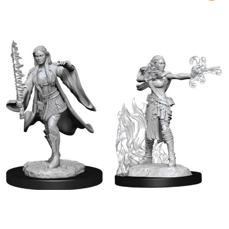 D&D Nolzur's Marvelous Miniatures: Multiclass Warlock+Sorcerer Female