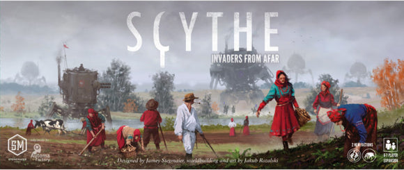 Scythe Invaders From Afar-Board Games-Athena Games Ltd