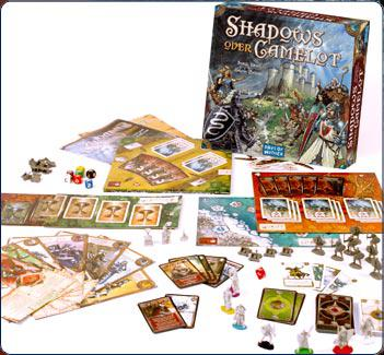 Shadows Over Camelot-Board Games-Athena Games Ltd