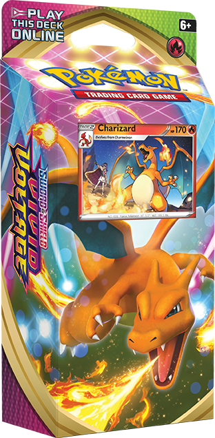 Charizard Vivid Voltage Theme Deck
