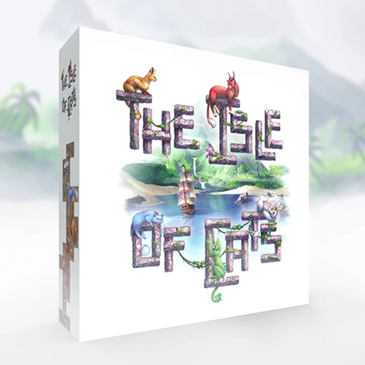 The Isle of Cats-The City of Games-Athena Games Ltd
