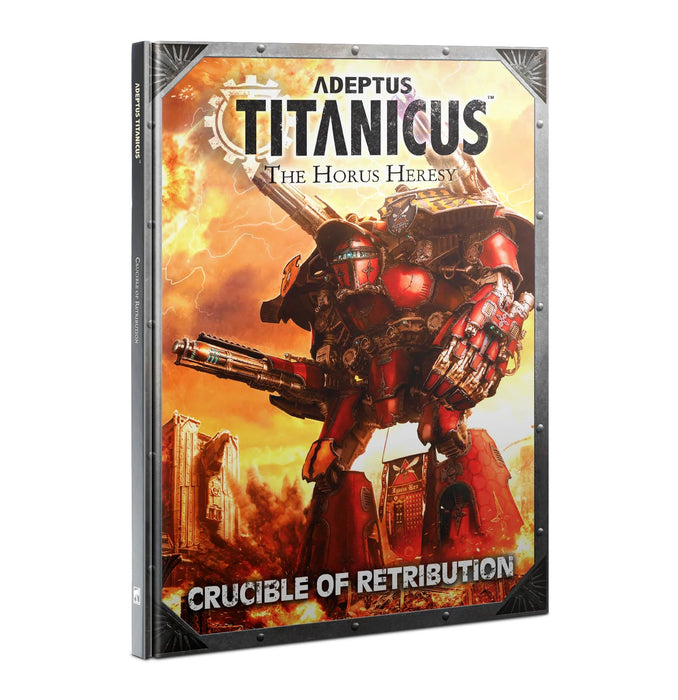 Adeptus Titanicus: Crucible Of Retribution-Games Workshop-Athena Games Ltd