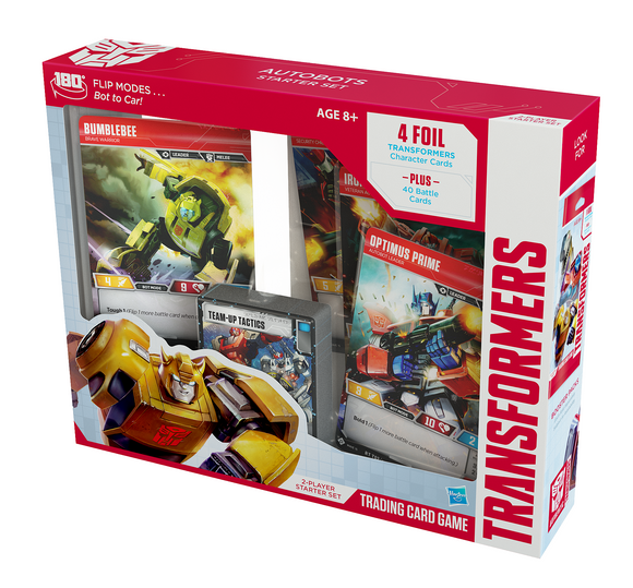 Transformers Trading Card Game Autobots Starter Set