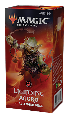 Magic the Gathering Challenger Deck - Lightning Aggro