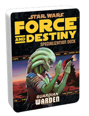 Star Wars Force and Destiny Warden Specialization Deck