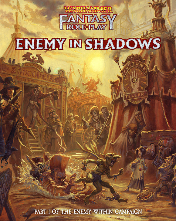 Enemy Within Campaign - Volume 1: Enemy in Shadows - Warhammer Fantasy Roleplay Fourth Edition