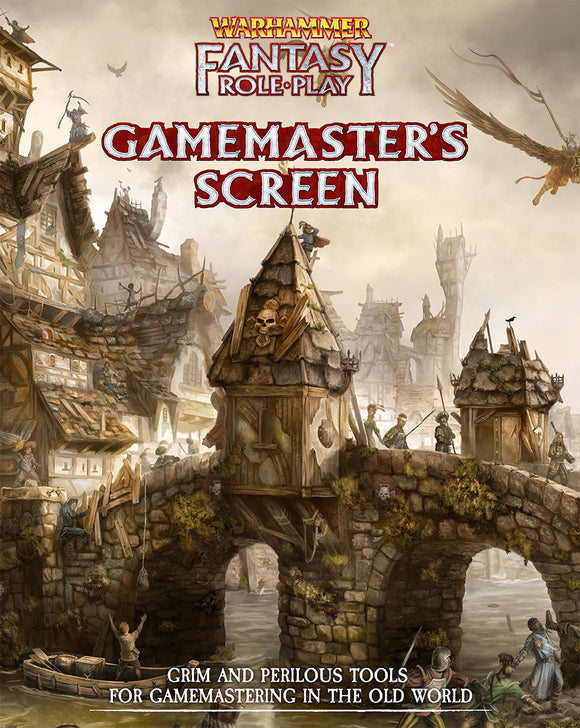 Gamemaster Screen: Warhammer Fantasy Roleplay Fourth Edition