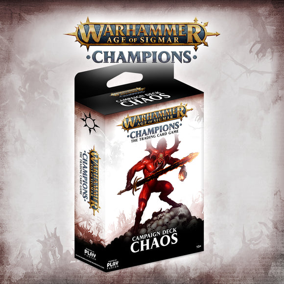 Age of Sigmar Champions Campaign Deck - Chaos