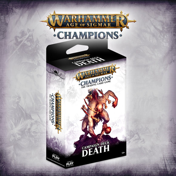 Age of Sigmar Champions Campaign Deck - Death