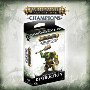 Age of Sigmar Champions Campaign Deck - Destruction
