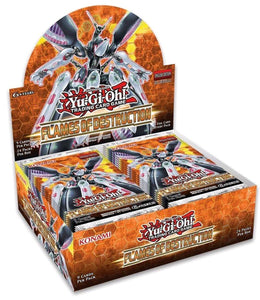 Flames Of Destruction Booster Box Art