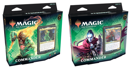 Magic The Gathering Zendikar Rising Commander Decks