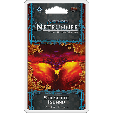 Android Netrunner Salsette Island Data Pack