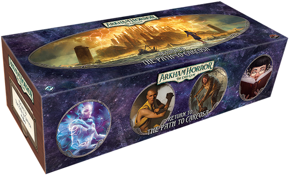 Return to the Path to Carcosa: Arkham Horror Living Card Game Expansion Box