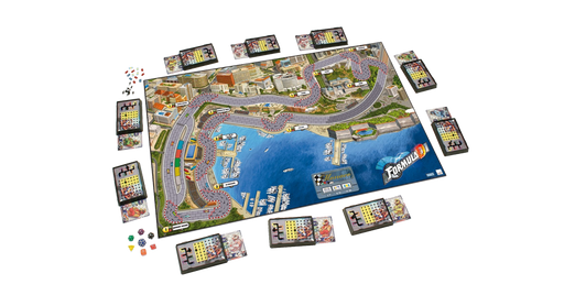 Formula D-Board Games-Athena Games Ltd