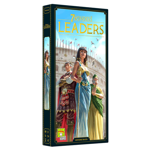 7 Wonders 2nd Edition Leaders Expansion